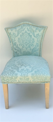 Light Powder Blue Bedroom Chair cherry-hill-nj