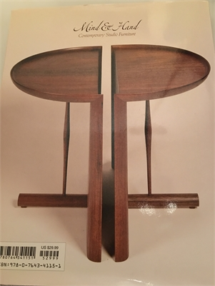 Mind And Hand : Contemporary Studio Furniture By The Furniture Society Staff