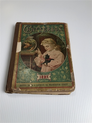 Chatterbox, Fantastic Antique Find from 1897! Antique Book for Children, Cherry Hill, NJ