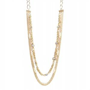 New! Richly Layered Fashion Necklace