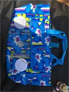 fun beach bag with built in speakers! cute! make an offer! Cherry Hill, NJ