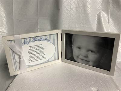 Godfather Gift Picture Frame New without tag or box