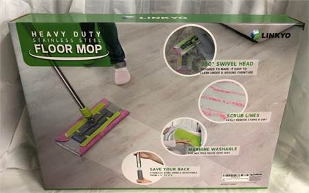 New in box: LINKYO Microfiber Hardwood Floor Mop  Cherry Hill, NJ local pickup or shipping available