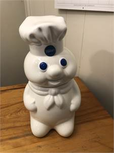 Pillsbury Cookie Jar 1998 Vintage, Excellent