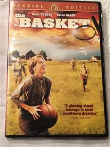 great family movie, rated pg,  The Basket DVD $5.99 shipped