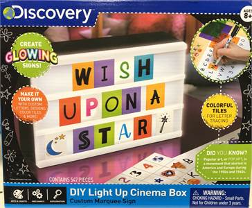 NEW! DISCOVERY Light Up Box with colorful tiles !  condition: NEW * $23.99 Shipped