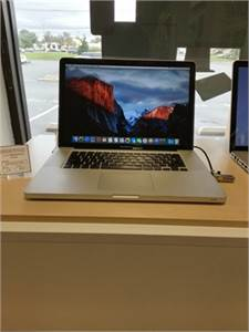 "15"" Apple MacBook Pro Computer - 1 Year Warranty - We Finance"