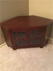 SOLD! TV Entertainment Stand with Storage