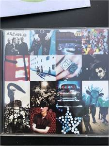 U2 CD achtung baby 1991, Cherry Hill, NJ