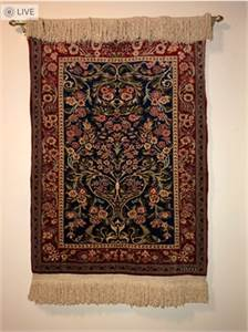Beautiful handmade Area Rug.  Handmade in Turkey