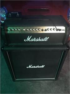Marshall Valvestate 8100 Half Stack (amplifier & speaker cabinet) with Footswitch, Cherry Hill, NJ