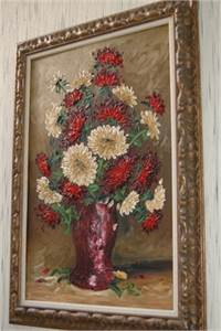 Sold! Floral Painting, Bouquet Painting, Cherry Hill, NJ