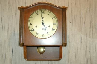 Sold! Made in Germany, Linden Wall Clock.    Cherry Hill, NJ