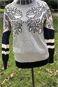 Great deal ! Princess Vera Sweater Size Large (junior's large) Long Sleeved-cherry-hill-nj
