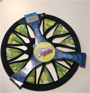 """New ! Sunlite Sports 12"""" Neoprene Twisty Flying Disc-cherry-hill-nj shipping available"""
