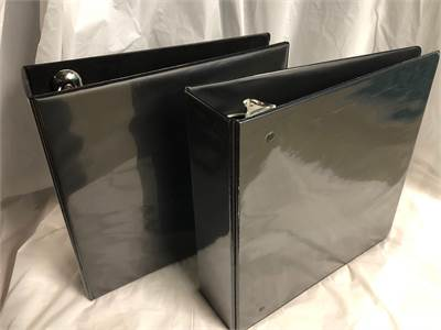 office supplies black binders Large, excellent condition, Cherry Hill, NJ pick or have it shipped