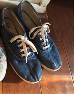 Blue Denim KEDS Sneakers Dollar Day Sales Cherry Hill, NJ local pickup or $9.99 shipped