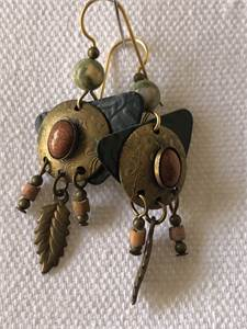 southwest style earrings, preowned good condition $7.99 shipped