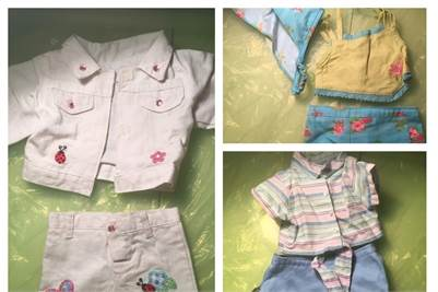PRICE DROP! American Girl Summer Clothing For Sale.