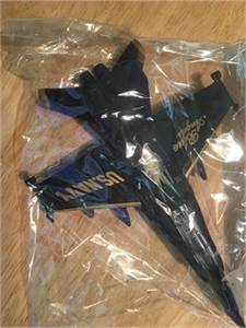 Diecast Blue Angels US Navy Fighter Jet, preowned good condition $10.99 shipped