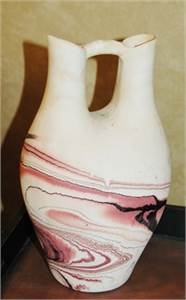 Sold! Small Pottery, Double Spouted Pottery, Cherry Hill, NJ