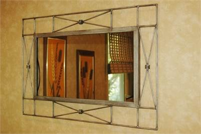Sold! Wire Framed Artistic Mirror, Cherry Hill, NJ