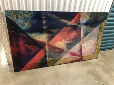 Huge Multi Colored Art, Fantastic piece, Local pickup in Cherry Hill, NJ, Contemporary Art 36 x 62