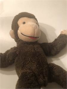 Curious George Monkey Plush Cute! Cherry Hill, NJ local pickup or shipping available