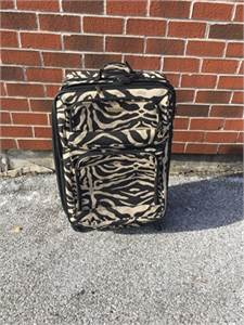 donated 3/19 Animal Print Luggage with Wheels Cherry Hill, NJ 08034