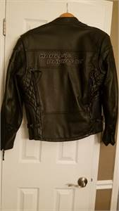 Joe rocket women's size xs leather motorcycle jacket