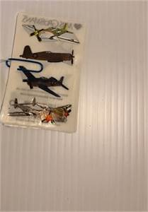 colorful foil flight / airplane stickers: preowned and very nice (Mrs. Grossmans) shipping available