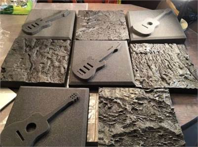 sold! Foam tiles for sale with musician theme  8 tiles all together cherry-hill-nj
