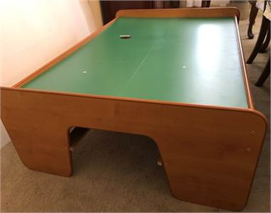 SOLD train table by Kid Kraft, great for Lego play etc. Cherry-Hill-NJ
