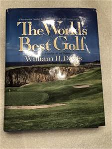 Worlds Best Golf by William H Davis ISBN 0-671-72555-6 preowned cherry-hill-nj with shipping