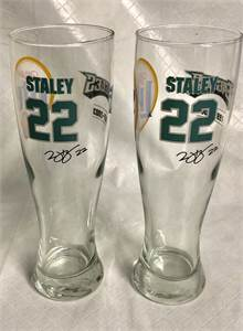 Miller Lite 🍺 beer 🍻 glasses Eagles 🦅