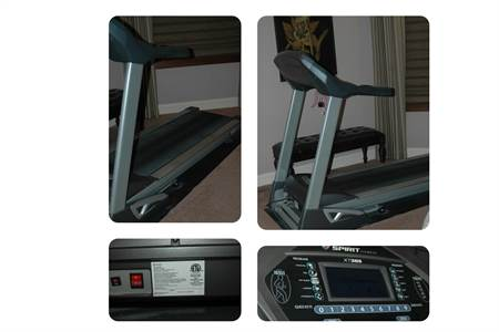 spirit fitness XT385 Treadmill in like new condition