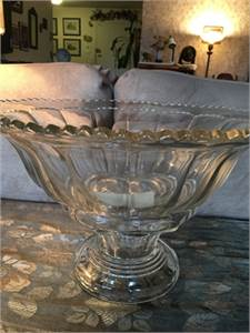 Very Large, Cut Glass, Antique Punch Bowl: Great for Decorating too! Cherry Hill, NJ 08002