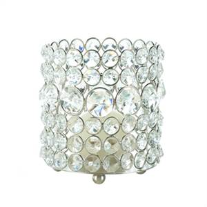 New! Brilliant Gems Candle Holder