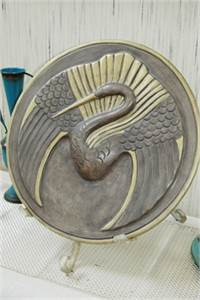 Swan Plaque Ceramic Decor, Cherry Hill, NJ
