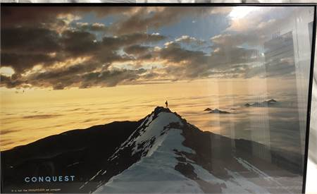 """Conquest Framed Art Poster 24 1/2"""" H x 36"""" W"""