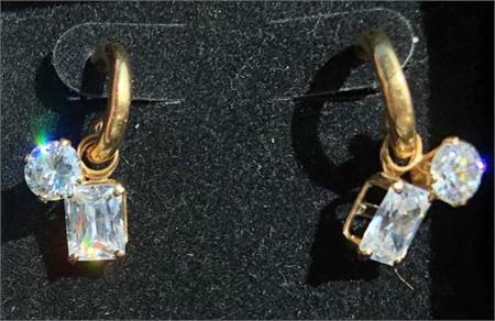 Lovely Swarovski Earrings, preowned and in excellent condition
