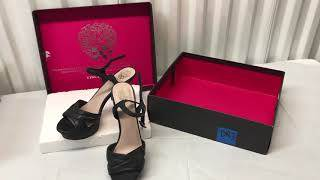 see video! DR3 Vince Camuto Black heels size 8.5 Medium