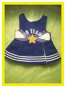 Cheer Dress! Go Team! Fits American Girl Doll or Generation Doll. Free Shipping