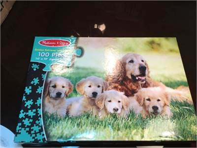 Golden Retriever 100 Piece Puzzle