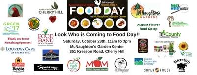 10/28: 2017 South Jersey Food Day: FREE EVENT in Cherry Hill