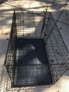 """Dog crate 36"""" double door from top paw"""