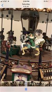 Fantastic vintage Christmas Carousel for sale.   Cherry Hill New Jersey