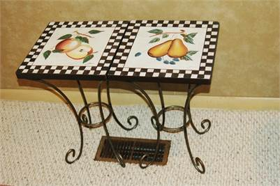 Sold! 3 Cute Fruit Tables! Fruit themed tables, Apples, Pears, Strawberries, Cherry Hill, NJ