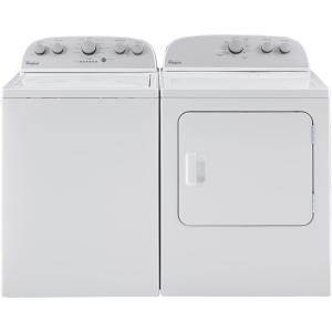 washer and dryer set Whirlpool 4.3 cu. ft. High-Efficiency White