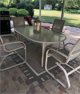 Outside Exterior Patio Furniture Table Set Table and Chairs Cherry Hill NJ Local Pick UP